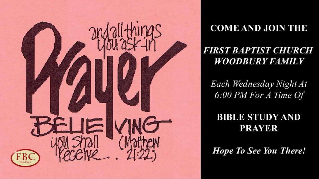 Prayer Meeting Invite